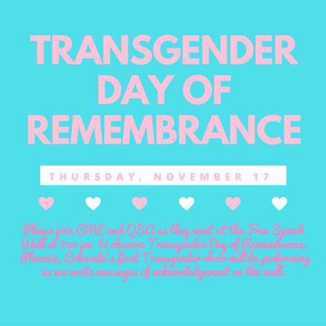 DU Trans Day of Remembrance