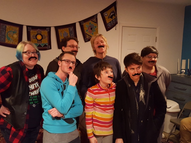 Group stache pic