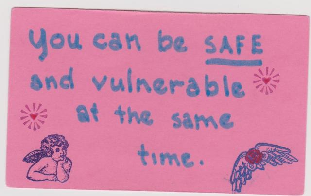 Safe and vulnerable