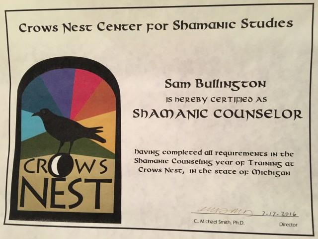Crow's Nest certificate